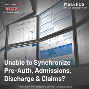 Unable to Synchronize Pre-Auth, Admissions, Discharge & Claims?